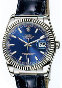 Rolex Datejust 36mm  116243 Silver Dial