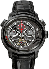 Audemars Piguet Millenary Carbon One Tourbillon Chronograph LE 26152AU.OO.D002CR.01