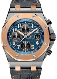 Audemars Piguet Offshore Automatic Bicoloured Bucherer Blue Edition 26471SR.OO.D101CR.01