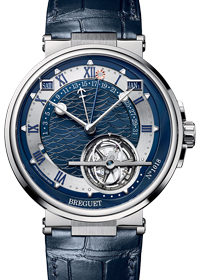 Breguet Marine Tourbillon Equation Marchante 5887PT/Y2/9WV