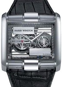 Harry Winston Glissiere Haute Horology Tourbillon 350/MATWL