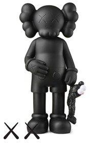 KAWS Share Vinyl Figure Black