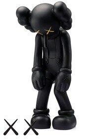 KAWS Small Lie Companion Vinyl Figure Black