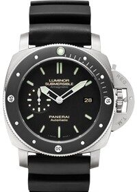 Officine Panerai Luminor Submersible 1950 Amagnetic 3 Days Titanio PAM00389