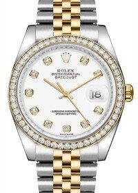 Rolex Datejust Lady 26mm Grey Meteorite Diamond Dial  179163