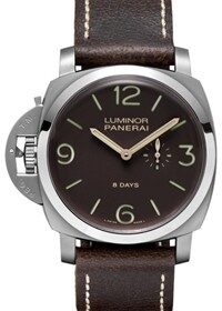 Officine Panerai Luminor 1950 Left-Handed 8 Days LE Titanio PAM00368