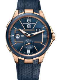 For travelers: Ulysse Nardin has updated the Dual Time models