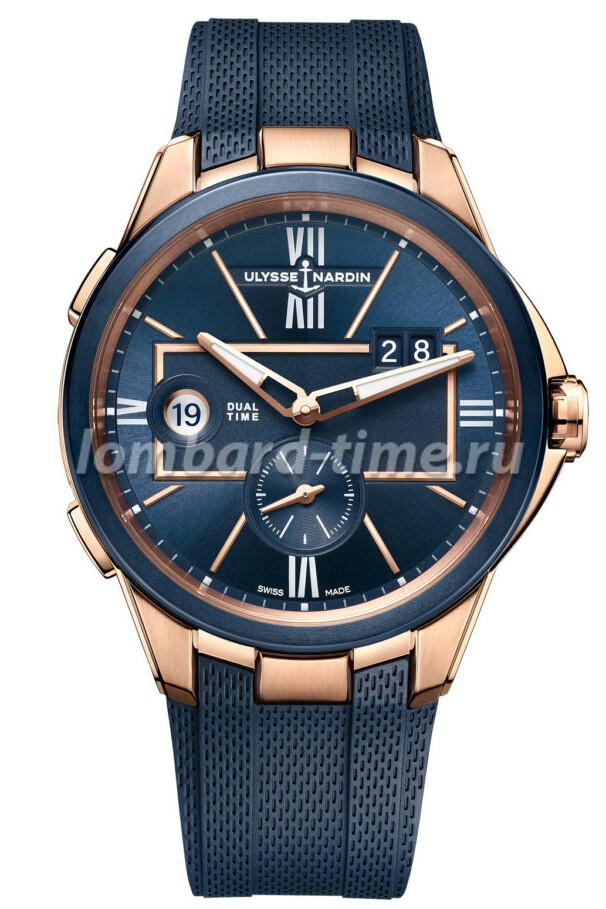 Часы Ulysse_Nardin_Dual_Time_RG_soldier