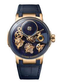 Original Ulysse Nardin with skeletonized dial