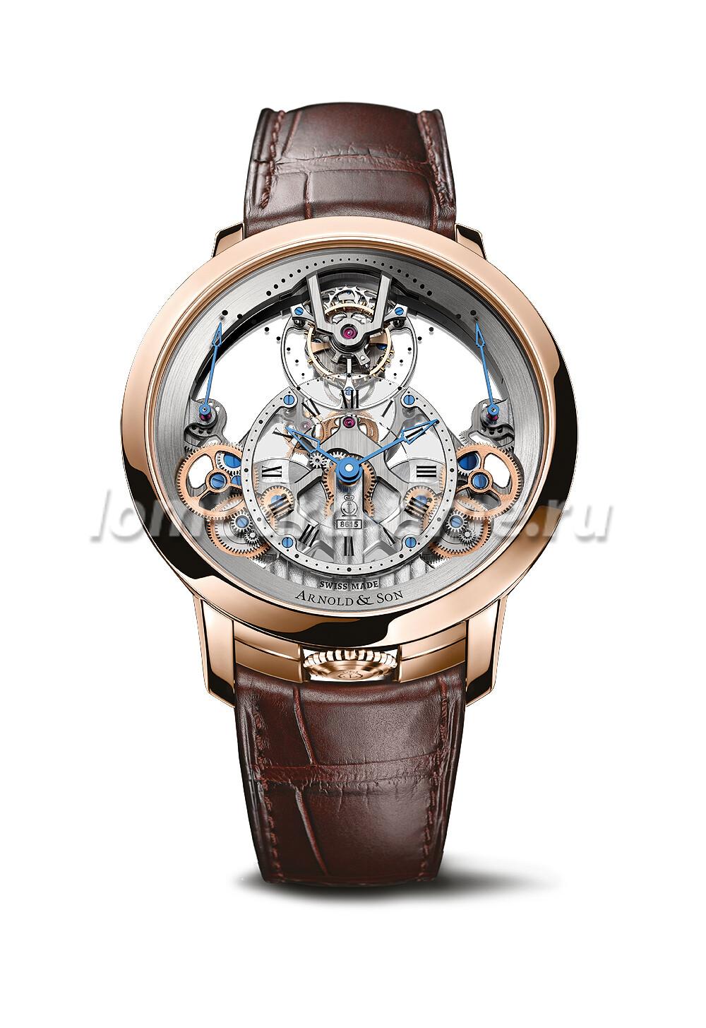 часы Arnold__Son_Time-Pyramid-Tourbillon
