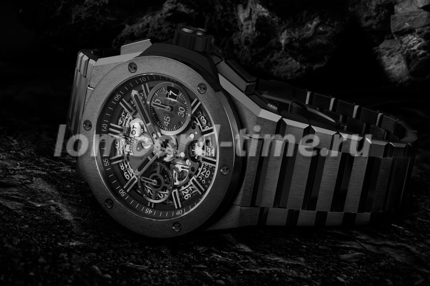 часы Hublot Big Bang_Bracelet_Integrated_Ceramic