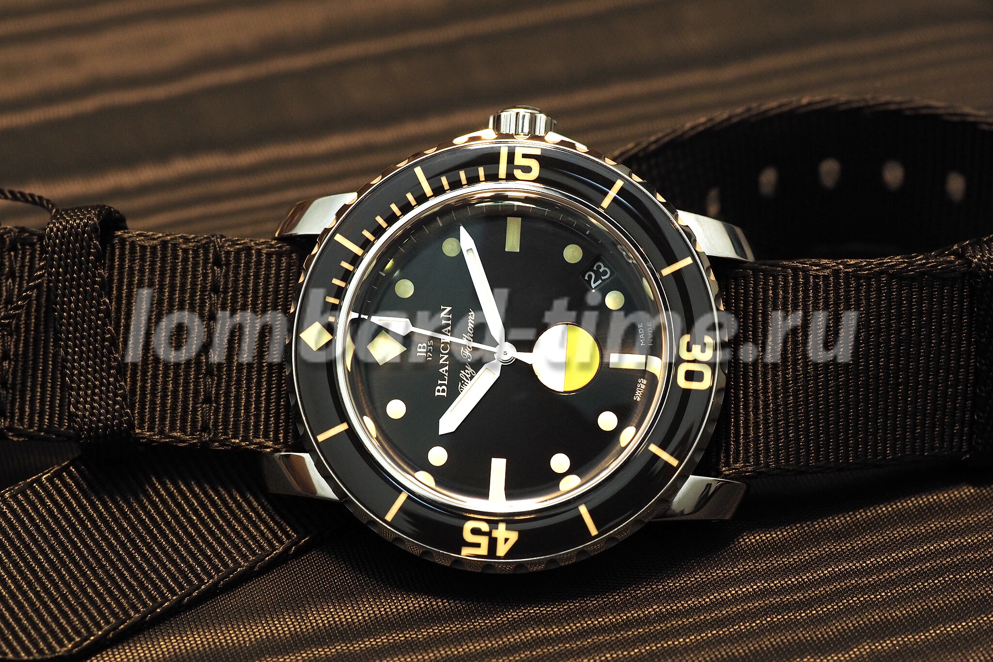 часы Blancpain-Tribute-to-Fifty-Fathoms-Mil-Spec