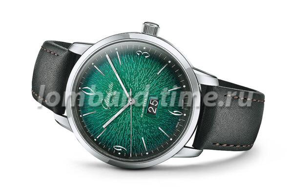 часы Glashuette_Original_Sixties_Panoramadate