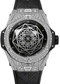 Hublot Big Bang Quartz Ceramic Diamonds Ladies 361.CM.7170.LR.1204