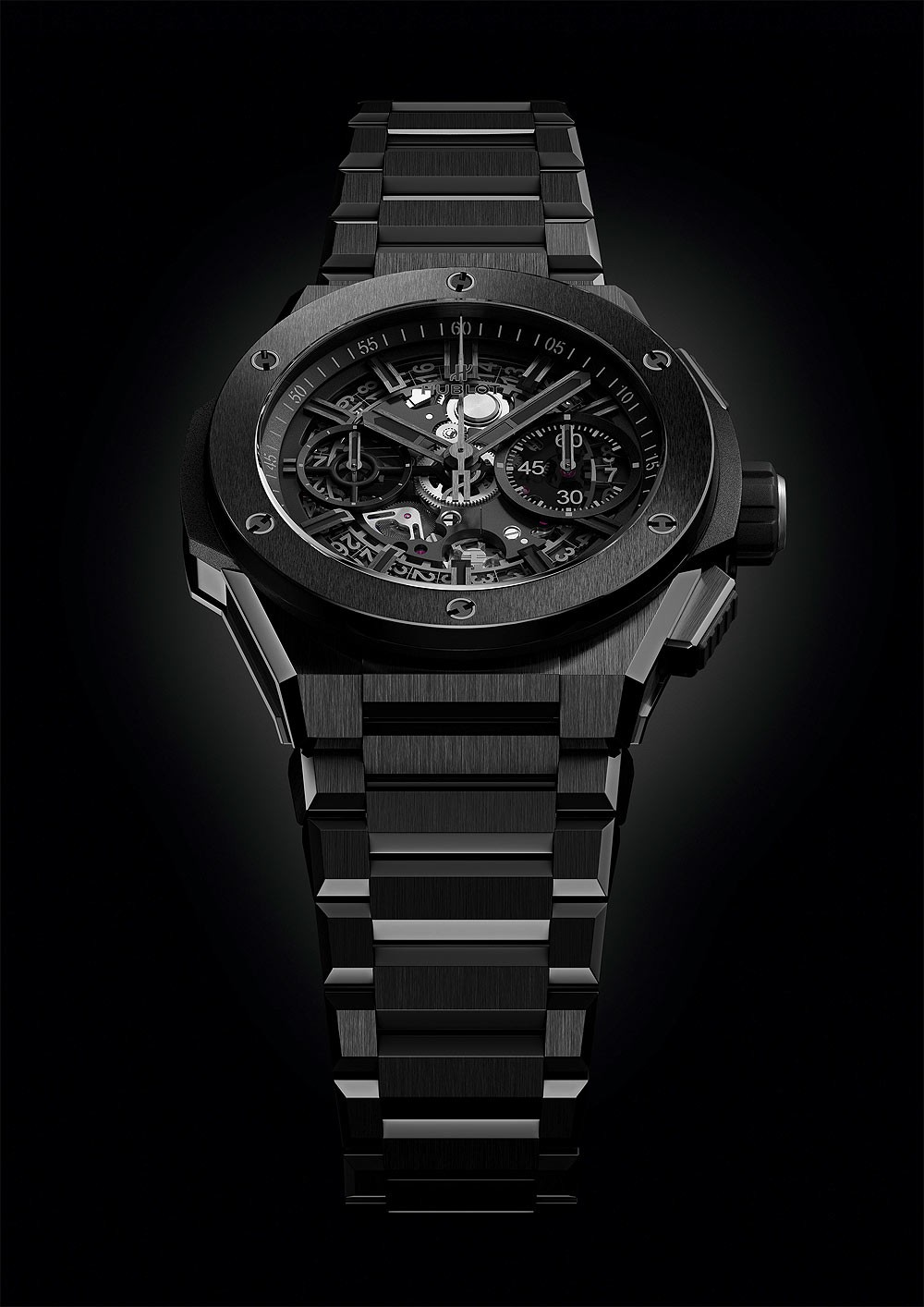 часы Hublot_BigBang_Integral_black_ceramic