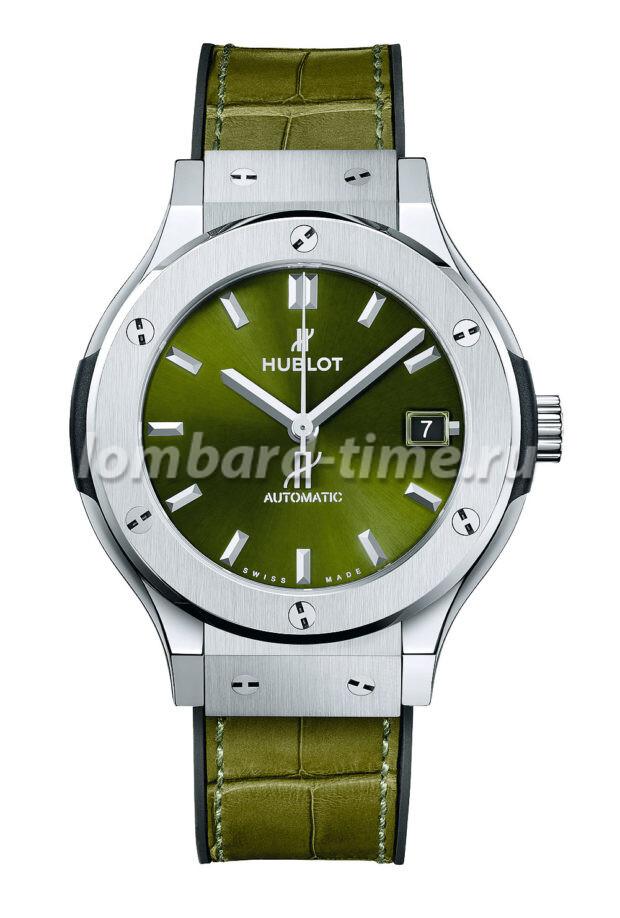 часы Hublot_Classic_Fusion_Green
