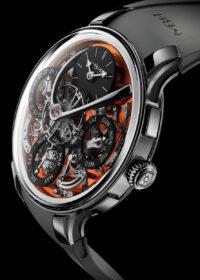 Бренд MB&F выпустил часы из циркония