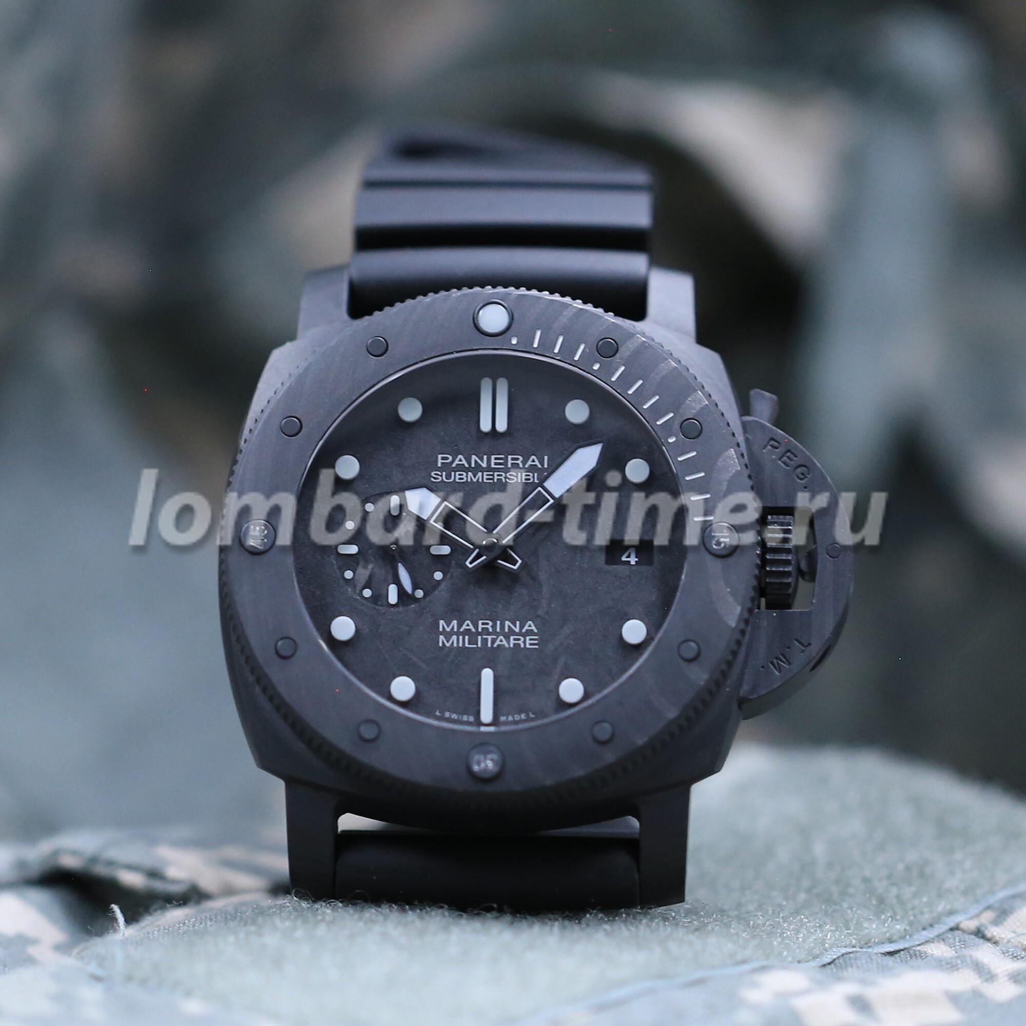 Часы Panerai_Submersible_Carbotech