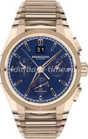 часы parmigiani-fleurier-tondagraph-gt-rose-gold-blue