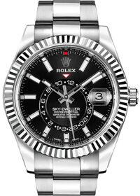 Rolex Oyster Perpetual Sky-Dweller Black Dial 326934