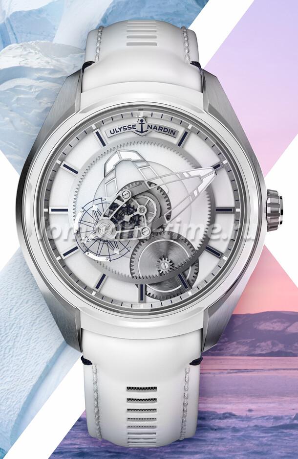 часы Nardin Freak X Ice
