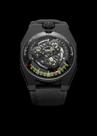 """Back to the future: the Urwerk brand and watches with """"space"""" complications"""