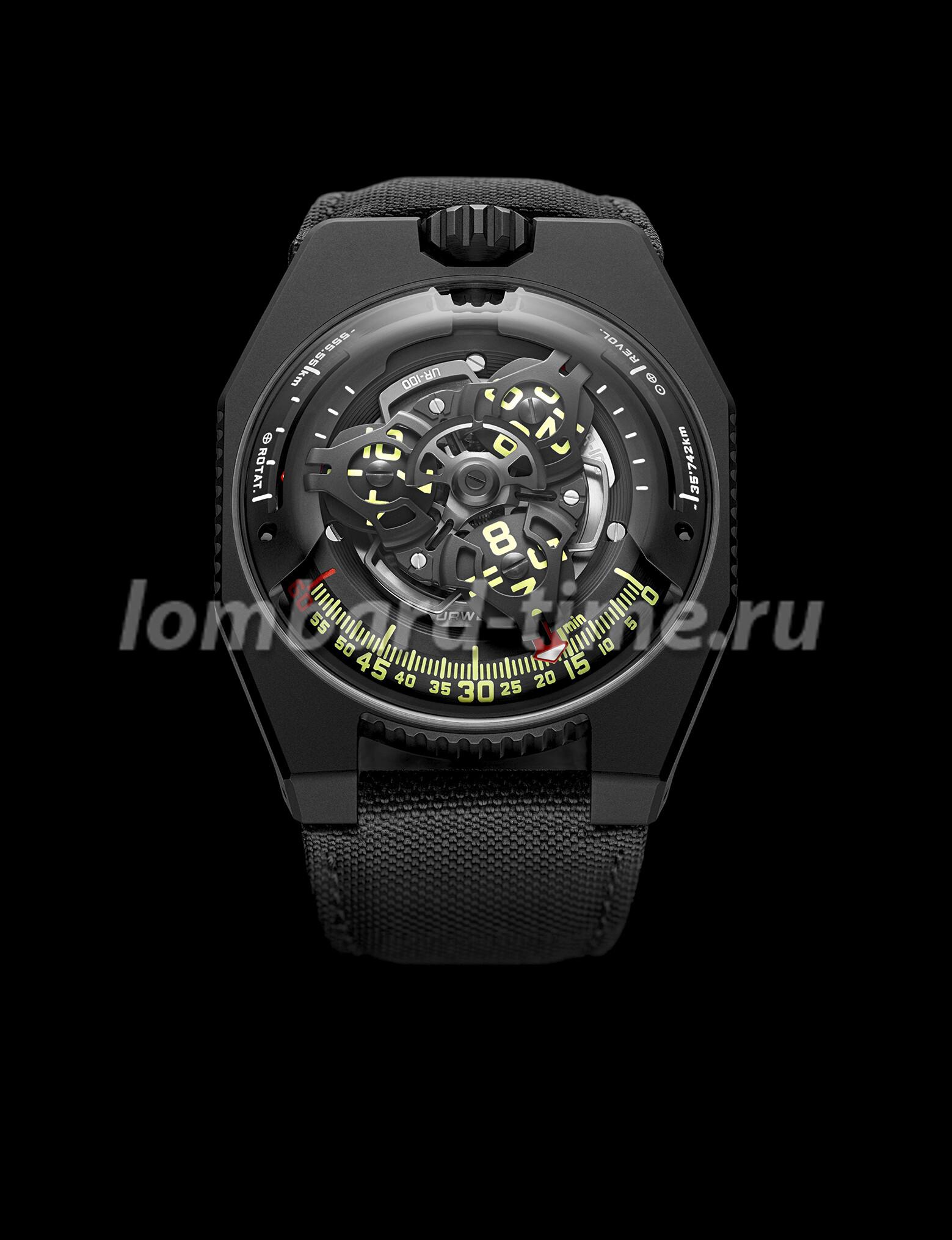 часы Urwerk-UR-100-Spacetime