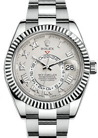 Rolex Oyster Perpetual Sky-Dweller White Dial 326939