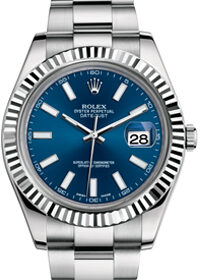 Rolex Datejust Rolesor 116333 Slate Green