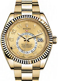Rolex Sky-Dweller Champagne Dial 326938