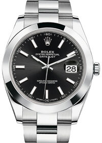 Rolex Oyster Perpetual Datejust 41 mm 126300 Black  Dial