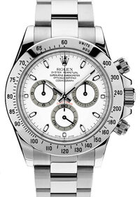 Rolex Oyster Perpetual Cosmograph Daytona 116520 White dial