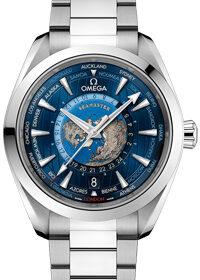 Omega Seamaster Aqua Terra 150M GMT Worldtimer 43mm 220.10.43.22.03.001