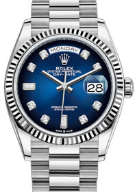 Rolex Day-Date 36mm 128239 Blue Ombre Dial