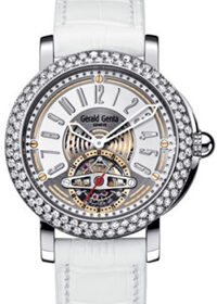 Gerald Genta Arena Tourbillon Snow White ATR.X.75.918.CD.BD