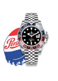 В путешествие с  Pepsi: Rolex GMT-Master II 126710 BLRO