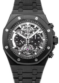 Audemars Piguet Tourbillon Royal Oak Chronograph Openworked 44mm 26343CE.OO.1247CE.01