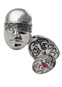 Запонки с бриллиантами «Forgive»