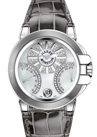 Harry Winston Ocean Lady Biretro WG 400/UABI36WC.MD