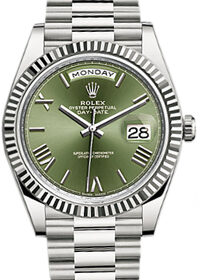 Rolex Day-Date 40mm Olive Green 60th Anniversary 228239