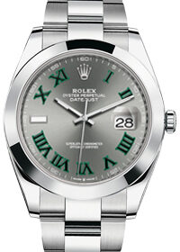 Rolex Datejust 41mm 126300 Wimbledon
