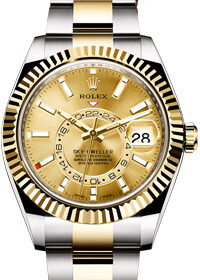 Rolex Sky-Dweller Champagne Dial 326933