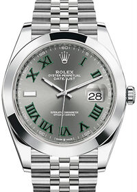 Rolex Datejust 41mm Wimbledon 126300-0014