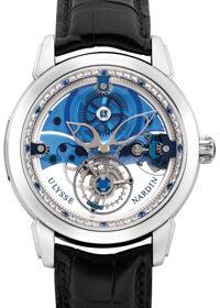 Ulysse Nardin Classico Complications Royal Blue Tourbillon 799-80
