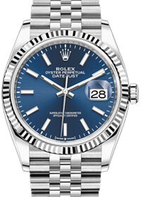 Rolex Datejust Blue Dial 36mm 126234-0017