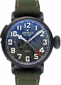 Zenith Pilot Montre d'Aeronef Type 20 GMT LE 96.2437.693/27.C788