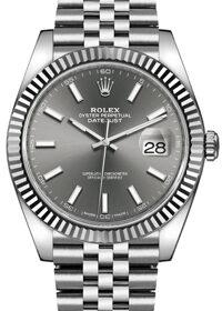 Rolex Datejust 41mm 126334 Dark Rhodium Dial