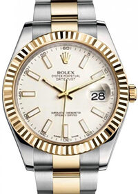 Rolex Datejust II 116333 Ivory Dial