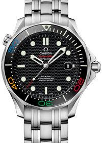 Omega LE Rio 2016 Seamaster Diver 300M Co-Axial Master Chronometer 522.30.41.20.01.001