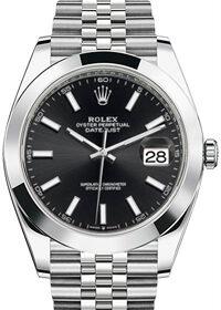 Rolex Datejust 41 mm 126300 Black  Dial